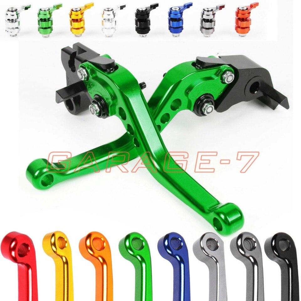 For Kawasaki ZXR750//ZX7R//ZX7RR 1989-1995 Short//Long//3D CNC Clutch Brake Levers