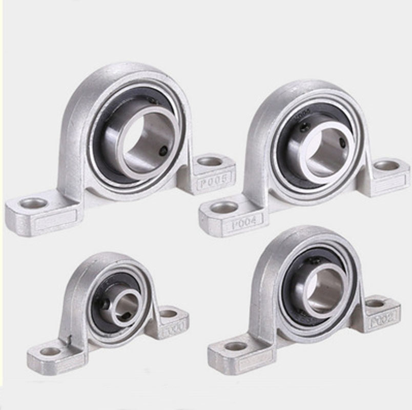 2pcs KP08 8mm Zinc Alloy Pillow Block Bearing Shafts Durable Insert Linear CNC Part Support Bore Ball Mounted Self-aligning mochu 22213 22213ca 22213ca w33 65x120x31 53513 53513hk spherical roller bearings self aligning cylindrical bore