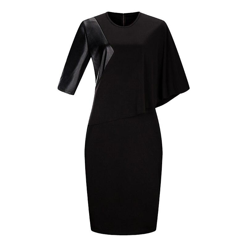 2018 New Designer Women Dress Plus rozmiar 6XL Jesień Vestidos Maxi - Ubrania Damskie - Zdjęcie 4