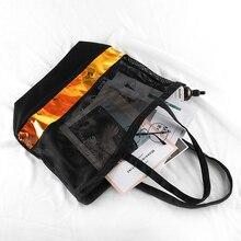 Stylish Multipurpose Large-Capacity Meshy Tote Bag
