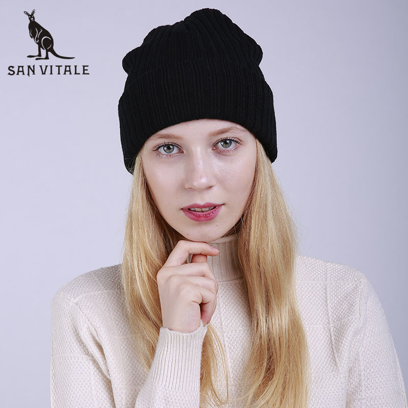 Skullies     Beanies   Hats Women Hats Winter Warm Top Quality Face Mask Cashmere Luxury Brand Palestine Cashmere Plaid Ski Mask