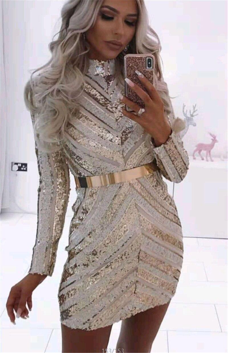 Haute qualité Sexy & Club gaine col roulé au-dessus du genou hiver femmes robe robe de soirée