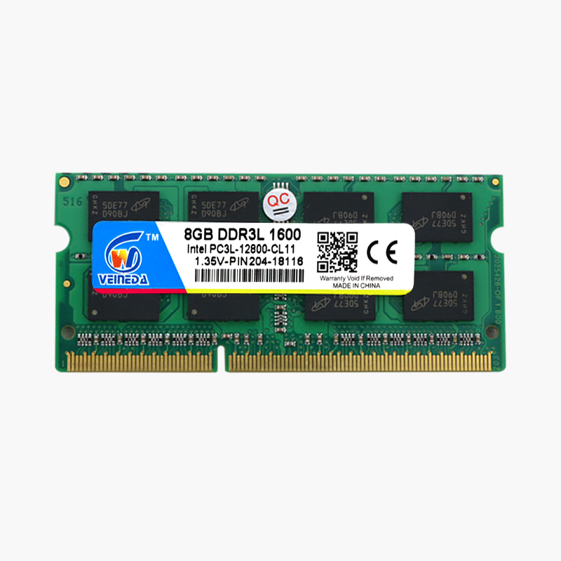 VEINEDA Laptop Ram DDR3L 8GB/4GB/2GB Compatible With All Motherboard 1