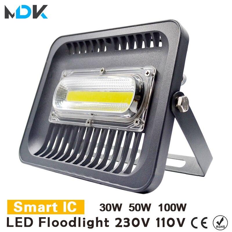 Floodlights Led Flood Light 50w Projector Ip65 Searchlight Waterproof 220v Floodlight Outdoor Led 100w Lighting 30w Wall Light Lights & Lighting