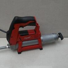 Подлинный м12в метров swatches перезаряжаемый литиевый смазочный пистолет/масляный инжектор и 4.0AH 220V зарядное устройство(Подержанные продукты