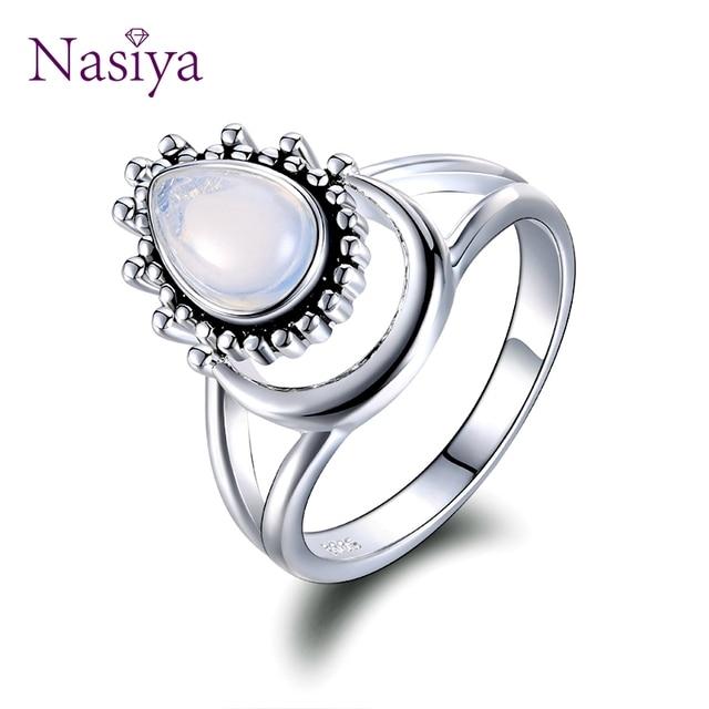 925 Silver Women's Vintage Punk Jewellery Ring 1