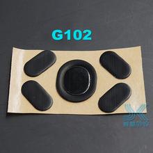 1 sztuk 3M nóżka myszy dla Logitech G100 g102 Gpro G300 G300s G302 G303 G304 G305 G400 G400S MX518 G402 pod mysz do gier 0 6MM cheap HKGK Mysz Łyżwy CN (pochodzenie)