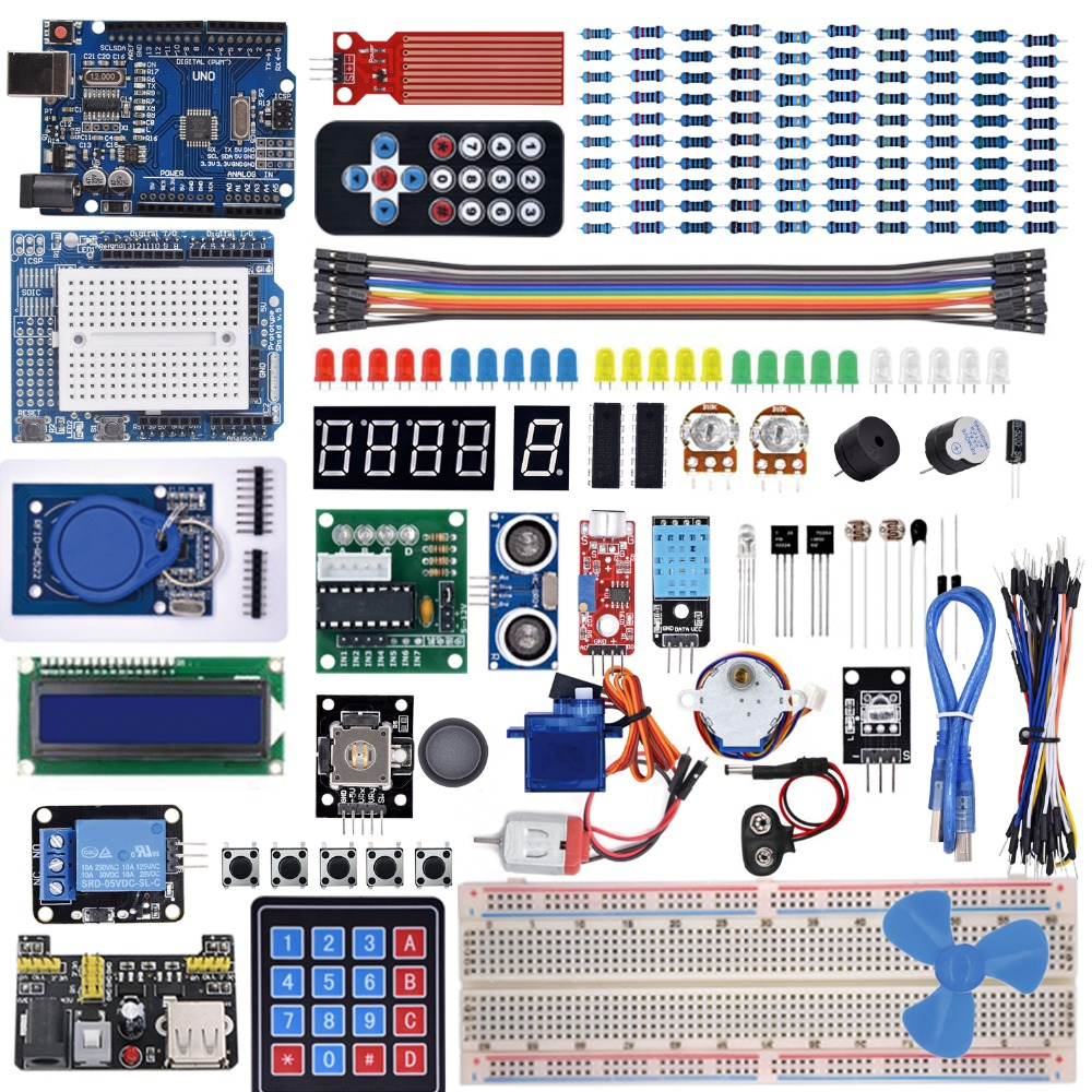 Super Starter Kit For Arduino UNO R3 With Tutorial