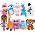 Doc McStuffins Lambie Boppy Gabby Stuffy Hallie Whispers Chilly  Findo Squeakers Stuffed Animals Kids Plush Toys Children Gifts