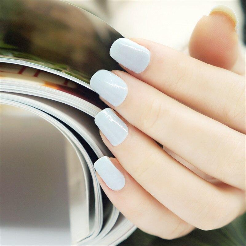 20pcs Nail Art Stickers UV Gel Nails Wraps 100% Polish Strips Patch ...