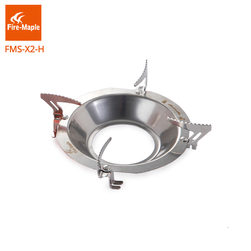 Fire Maple Stainless Steel Gas Stove Spare Pot Holder Pot Support Pot Stand For Fixed Star X2 X3 Cooking System 65g FMS-X2-H multifunctional cooking pot soup pot steamer with stainless steel steamer diameter 20cm for electromagnetic furnace gas stove