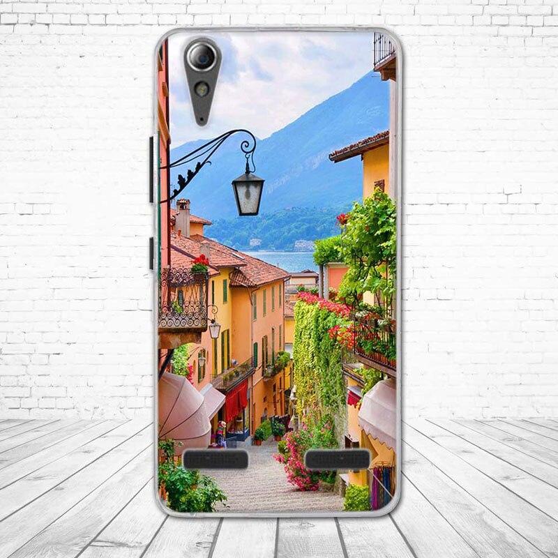 """Miękkiego silikonu case wydrukowano phone tylna pokrywa dla lenovo a6010 & a6000 & dla lenovo lemon k3 k30-t skóry pokrywa 5 """"K 3 A 6000 6010 17"""