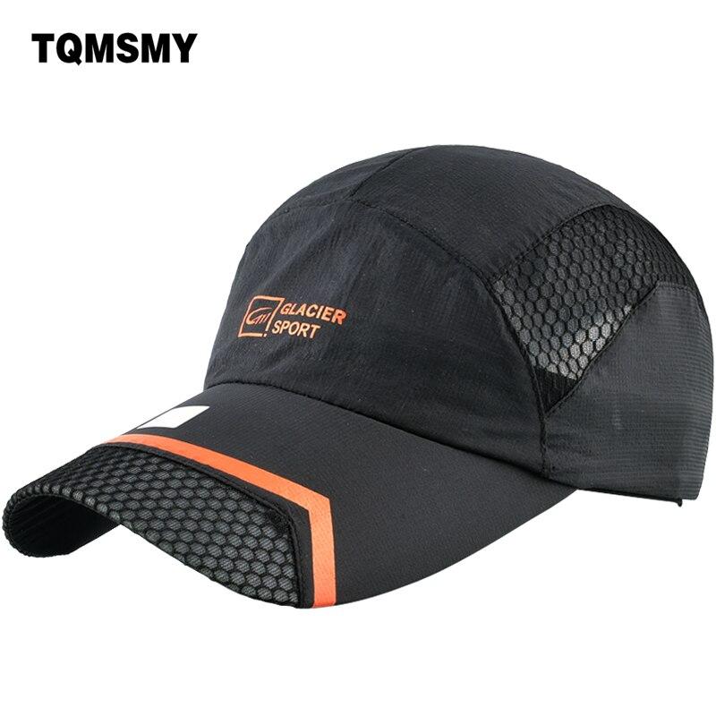 TQMSMY Quickly Drying Men mesh   Baseball     Caps   Women Snapback   Caps   Hats outdoors Summer Folding Bone   Cap   adjustable Hats TMBS112