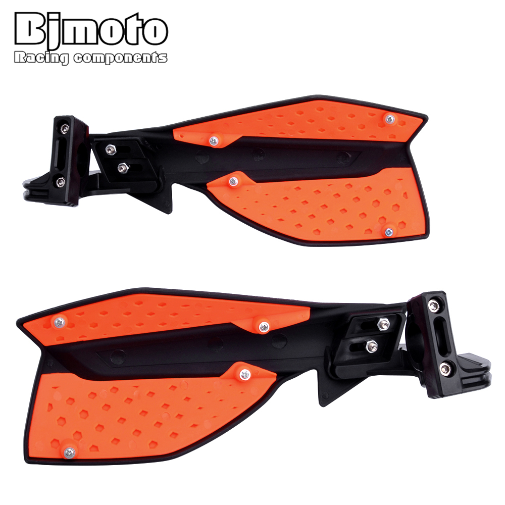 Image 3 - BJMOTO Motocross Hand Guards Handguard Protector Protection For Motorcycle Dirt Bike Pit Bike ATV Quads with 22mm Handbar-in Falling Protection from Automobiles & Motorcycles