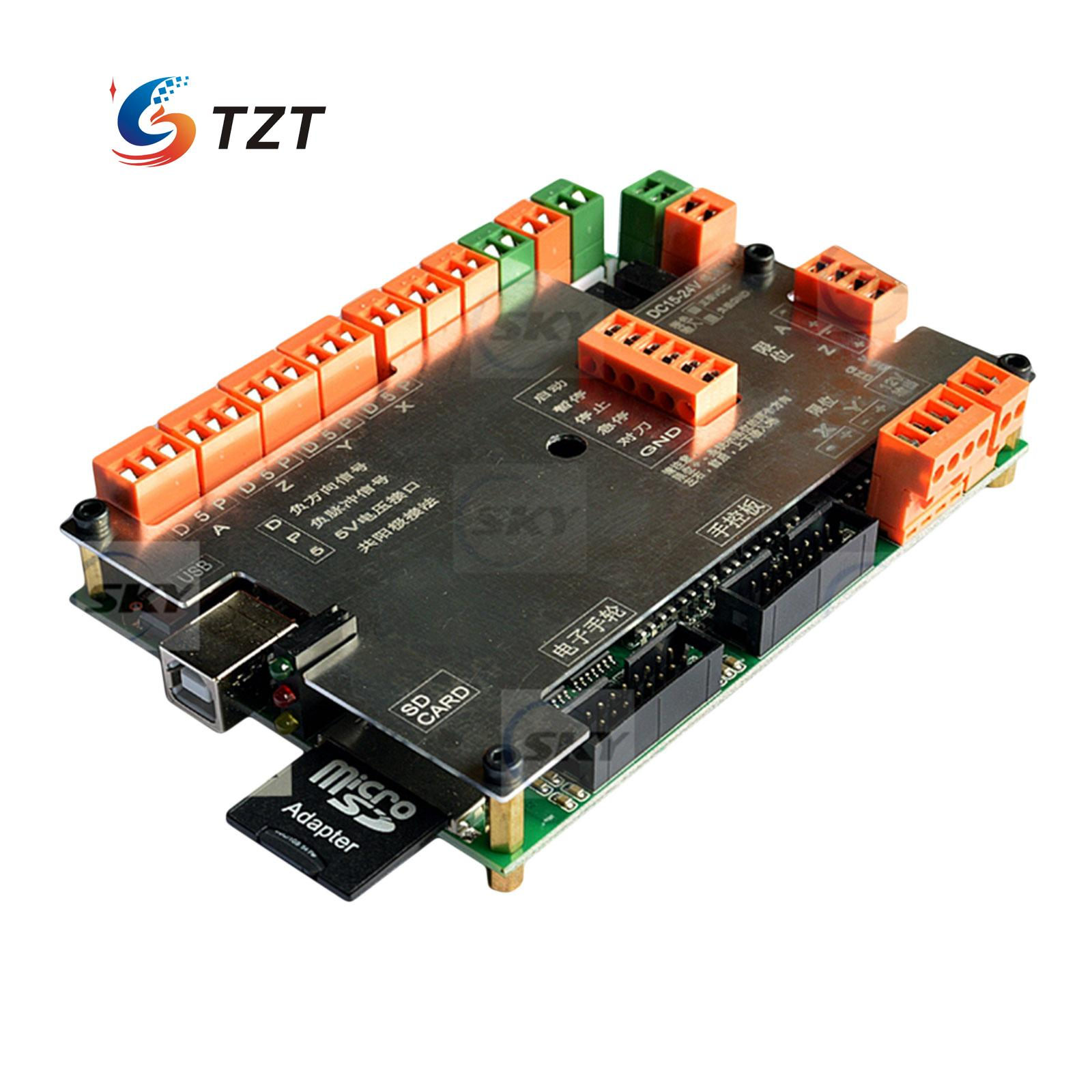 USB CNC MK4 4 Axis Motion Control Card Offline Engraving Machine Controller CNC Router