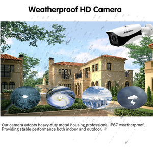 Image 4 - AHCVBIVN 16CH Security Camera System AHD DVR Kit 16PCS 2592x1944 5.0MP IR Outdoor CCTV Camera P2P Video Surveillance Set
