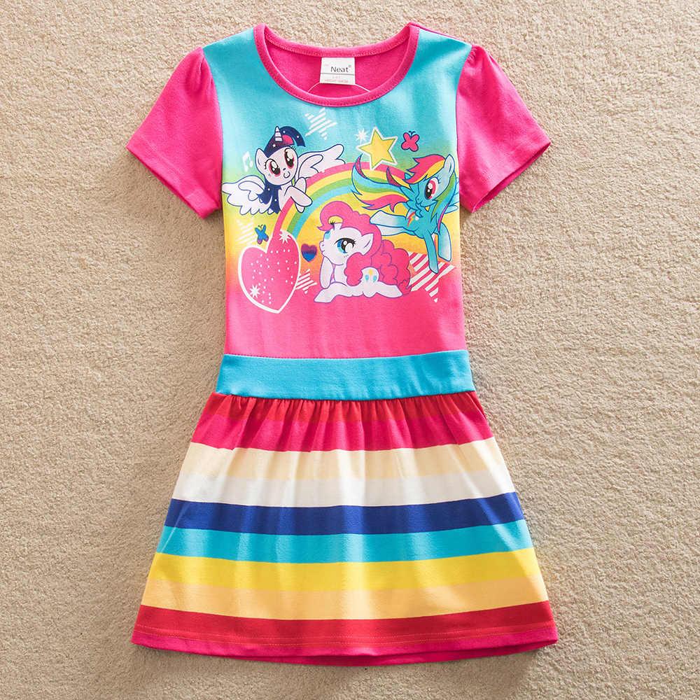 f74e7a8957 ... Neat Baby girl wearing summer cotton children s clothing girl children  printing pattern dress baby girl princess ...