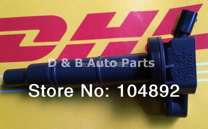 1 шт. японское зажигание катушки зажигания в сборе 90919-02244 для Toyota