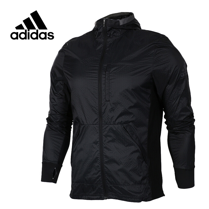 все цены на Original New Arrival Official Adidas Pure Amp Jkt M Men's jacket Woven Hooded Sportswear
