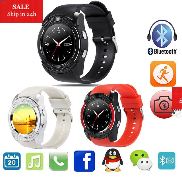 Q8 Bluetooth Smart Watch for Android Support SIM TF Card Men Women reloj inteligente for Xiaomi 6 Samsung S8 Phone PK GT08 DZ10