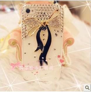 New Hot Fashion Bling Shiny Rhinestones Hard Back  Cover for  iPhone 5 5s diamond phone case  free shipping