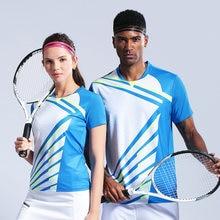Мужская и женская рубашка для настольного тенниса бадминтона