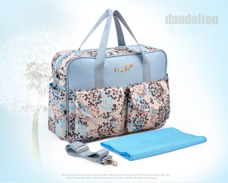 2018 New Diaper Bags Multicolor Stroller Diaper Bag High Quality Shoulder Maternity Mother Multifunctional Mummy Bags Baby