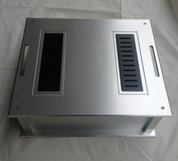aluminum power amplifier chassis /home audio amplifier case (size 350*132*300MM)