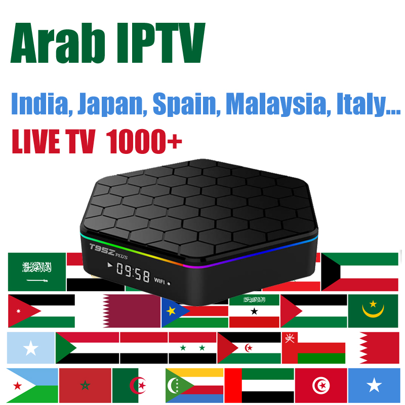 2019 no yearly fee smart iptv subscription Asia Arabic french italia indian europe Japan 900+ Channels android tv box
