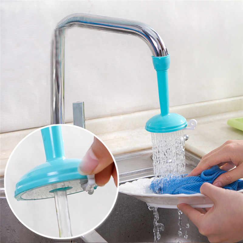 באיכות גבוהה ארוך ידית מסתובב מים חיסכון ברז Aerator מפזר ברז זרבובית מסנן מחבר מתאם מטבח אבזרים