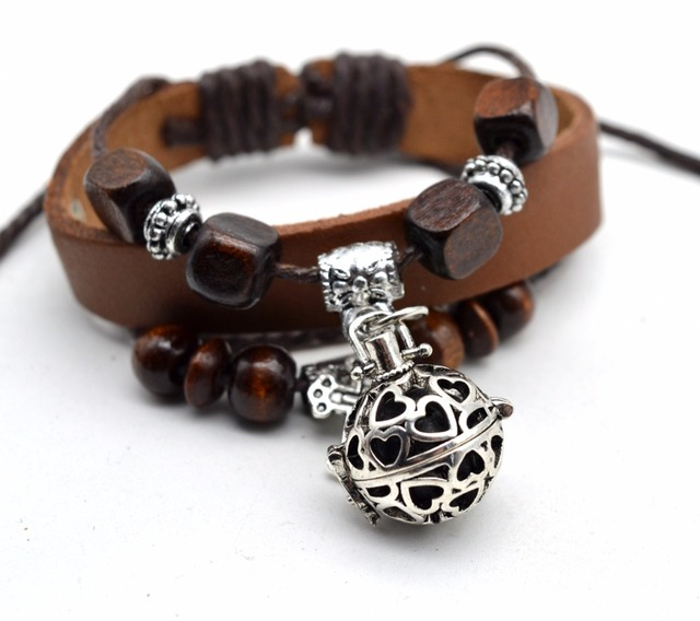 Lava Bracelet Essential Oil Diffuser Bracelet Aromatherapy Leather