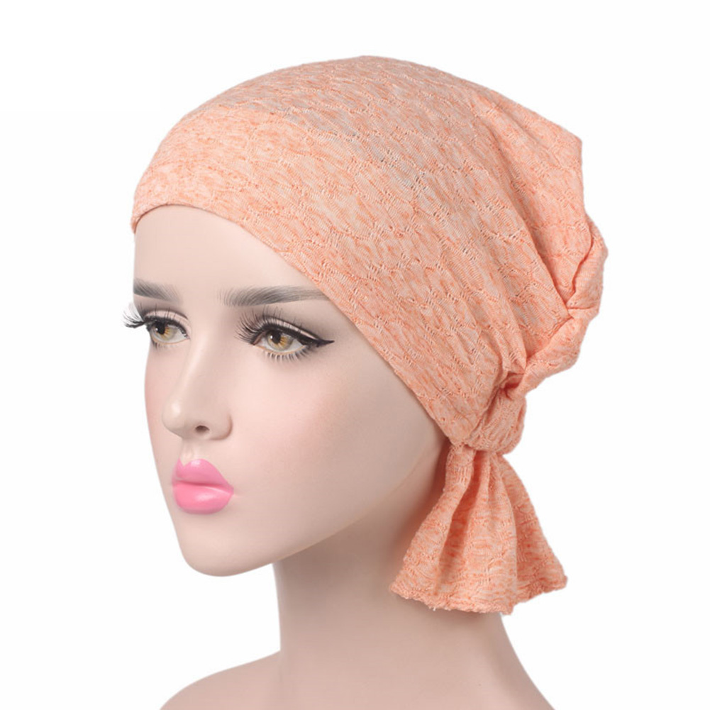 Chemo Cap Turban Gift Soft Stretch Knitted Muslim Hijab Hair Loss Cotton Women Hat Ladies   Scarf     Wrap