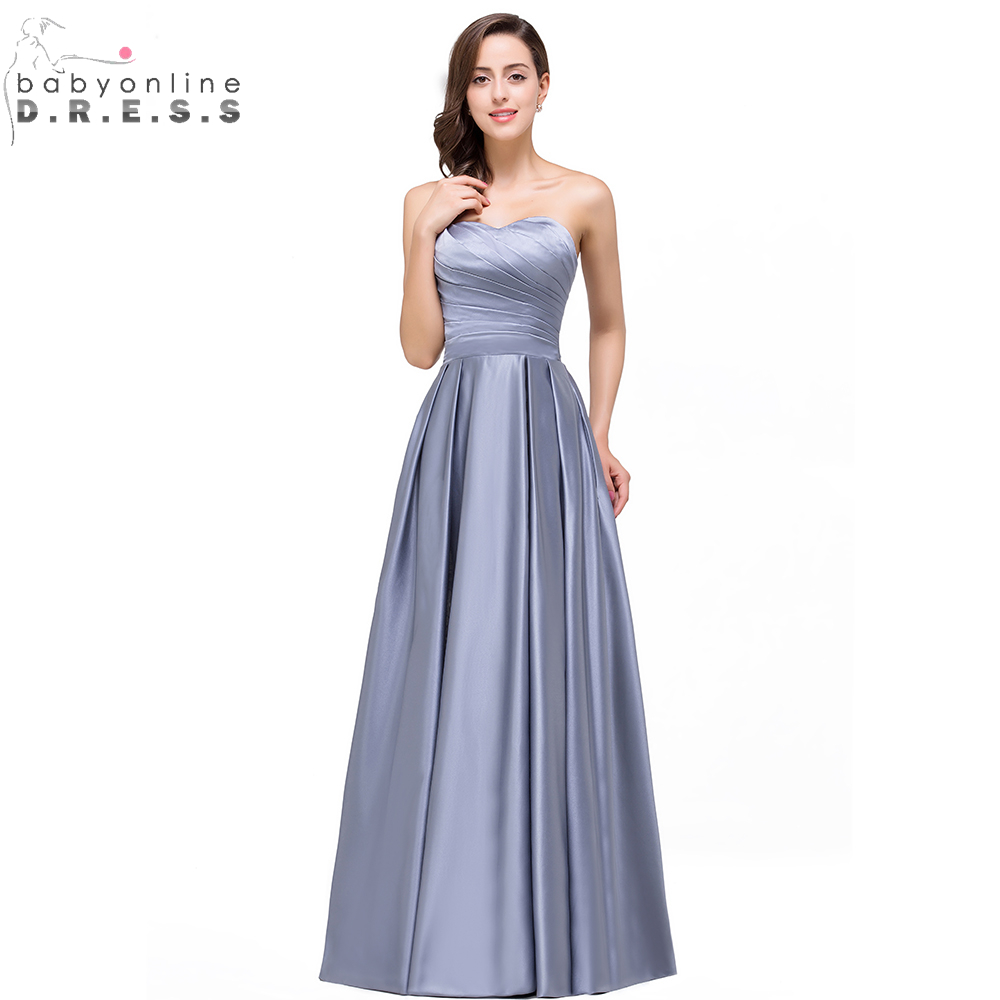 Online Get Cheap Bridesmaid Silver Dresses -Aliexpress.com ...