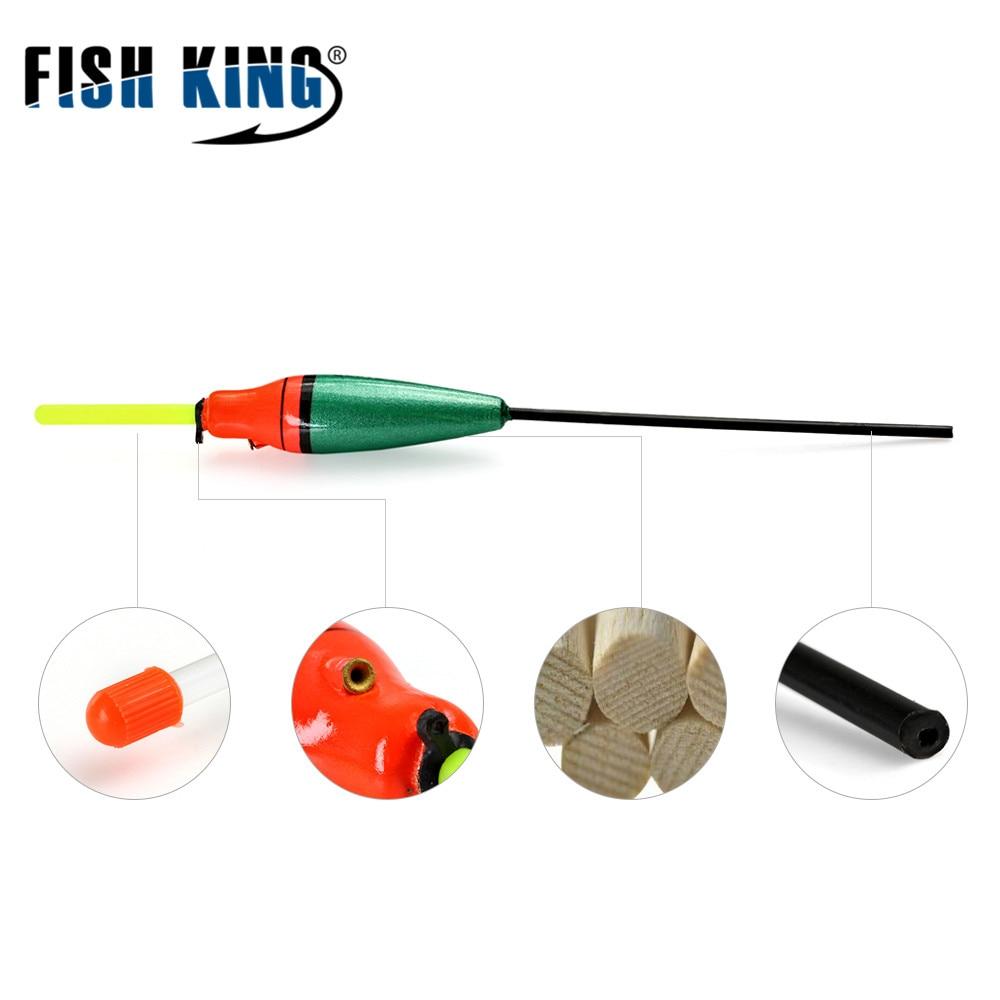 FISHKING Visserijvlotter 5 Stks / partij 3g 4g 5g 6g 7g Lengte 19 - Visvangst - Foto 5