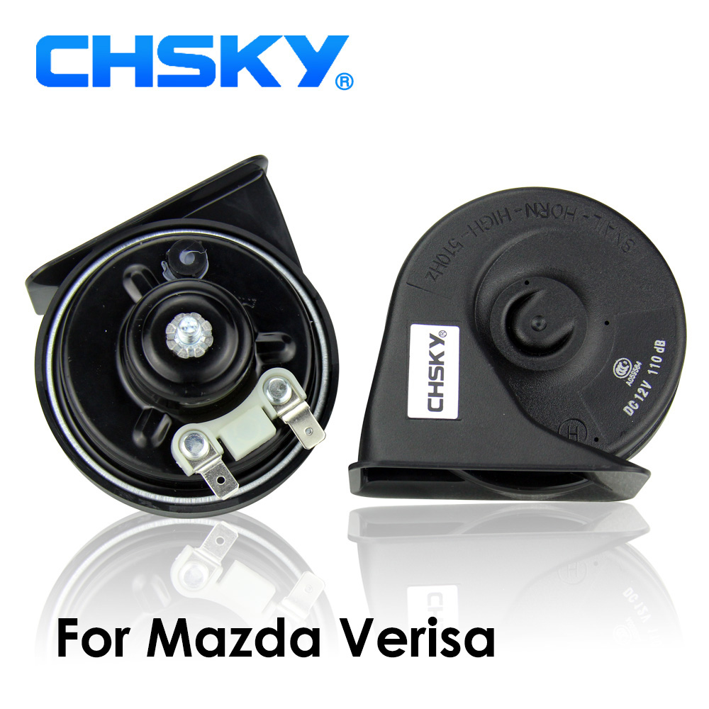 CHSKY Car Horn Snail type Horn For Mazda Verisa 2004 TO 2015 12V Loudness  110 129db Auto Horn Long Life Time High Low Klaxon-in Multi-tone & Claxon  Horns ...