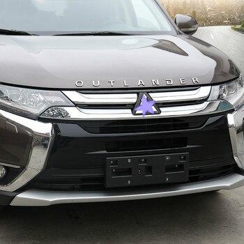 רכב סטיילינג הוד רכב סמל כיסוי מדבקת מכתבי ספורט סגנון מקרה אביזרי עבור מיצובישי הנכרי 3D מכתבי הוד סמל