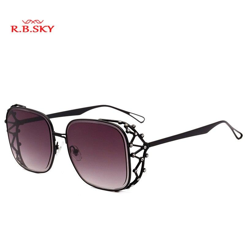 2018 Newest steampunk Square Sunglasses Women Luxury Brand Designer Rhinestone Sun Glasses Female fashion Shades Eyewear lady UV