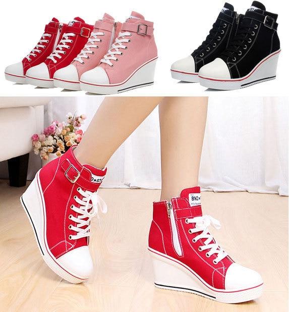 Wedge high heels for kids