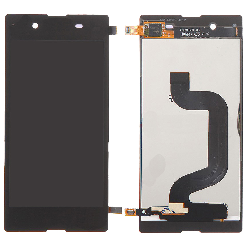 LCD Display + Touch Screen Digitizer Assembly Replacement for Sony Xperia E3 (Black White)