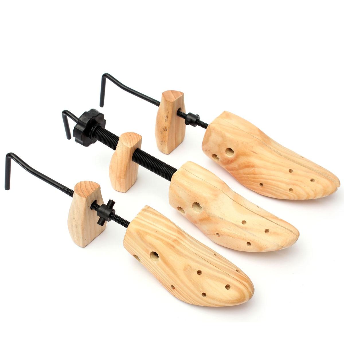 Унисекс 1 шт. обувь носилки деревянная обувь дерево формирователь стойки, деревянные регулируемые туфли-лодочки на плоской подошве сапоги эспандер деревья Размер/М/Л