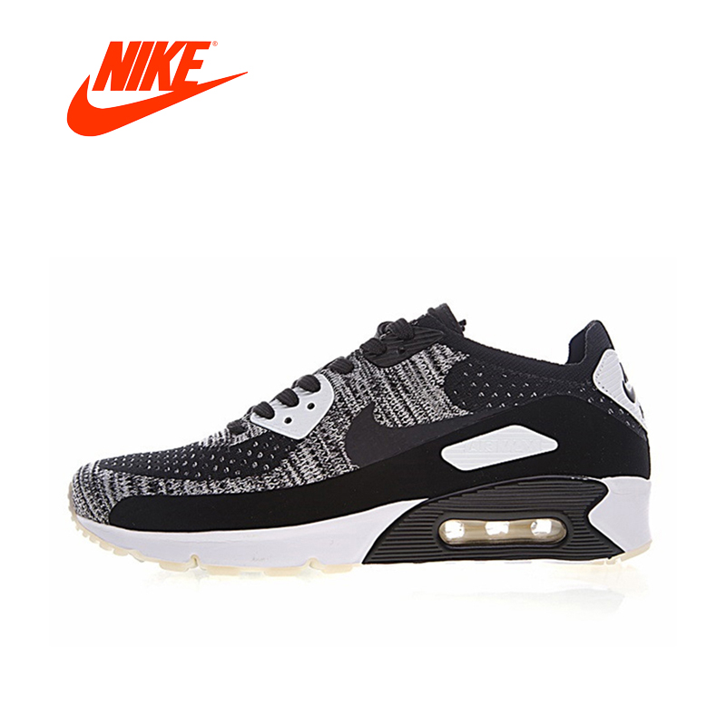 Original New Arrival Authentic Nike Air Max 90 Ultra 2.0 Flyknit Men's Running Shoes Sneakers Sport Outdoor Good Quality original new arrival authentic nike air max 90 ultra 2 0 flyknit men s running shoes breathable lightweight non slip outdoor
