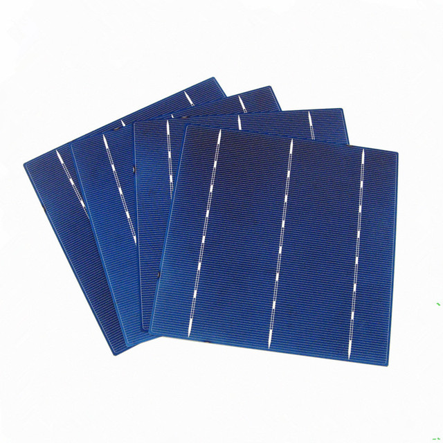ECO-WORTHY 100pcs Polycrystalline Silicon Solar Cell 6×6 Diy 12v Solar Panel Battery Charger Photovoltaic Cell