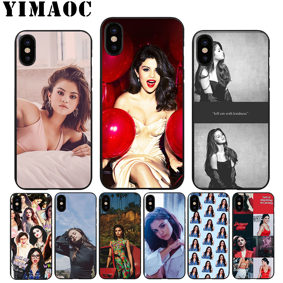 YIMAOC A49 Selena Gomez Sad Song Soft Silicone Case for iPhone 11 Pro Xr Xs Max X or 10 8 7 6 6S Plus 5 5S SE image