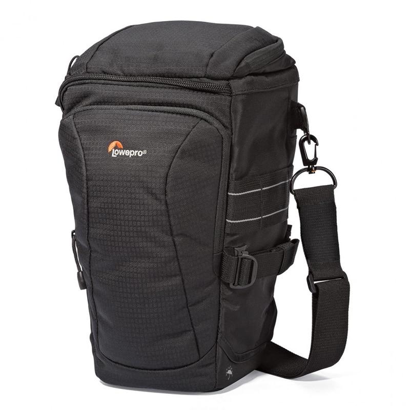Lowepro Toploader Pro 75 AW II Digital SLR Camera Triangle Shoulder Bag Rain Cover Portable Waist Case Holster For Canon Nikon