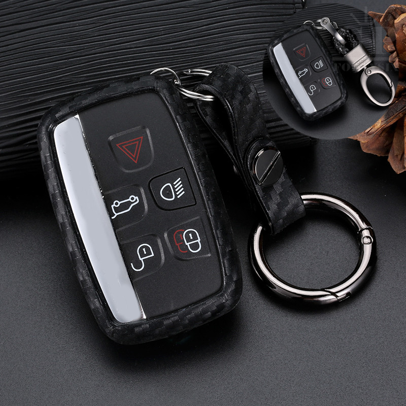 Sport Evoque New Range Rover Key Ring Key Fob Genuine Leather