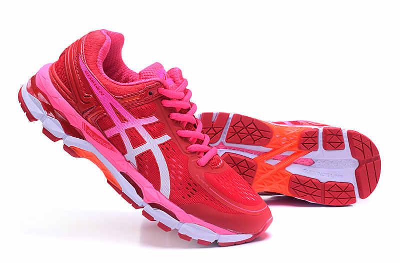... Orginal ASICS GEL-KAYANO 22 Women s Cushion Sneakers Comfortable  Outdoor Athletic Running shoes Hongniu ... e29bd90924f0