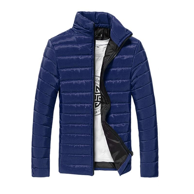 Autumn Winter Jacket Coat Men Candy Color Casual 3XL Plus ...