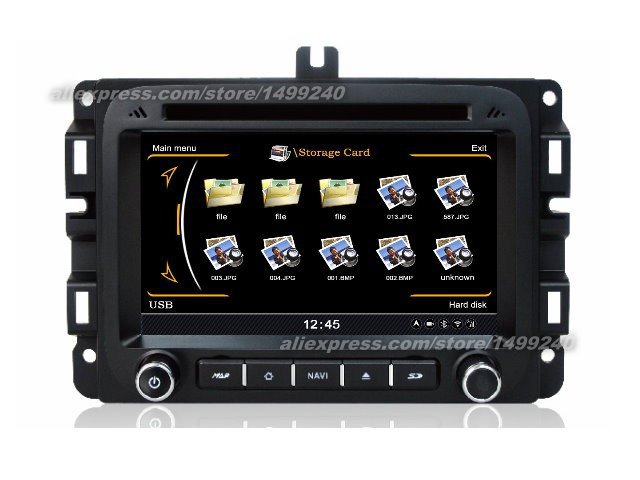 For Dodge Ram 2013~2014   Car GPS Navigation System + Radio TV DVD iPod BT 3G WIFI HD Screen Multimedia System-in Vehicle GPS from Automobiles & Motorcycles    1