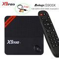 S905X X9 PRO Android TV Box Amlogic Android 6.0 a Plena Carga 1 GB DDR3 8 GB de máster erasmus mundus Miracast Streaming HD Smart TV Media Player WiFi