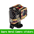 Gopro Case Sticker TMC American Flag Case Sticker For Gopro HD Hero 3 Go Pro Water Camera Housing Free Shipping Christmas Gift